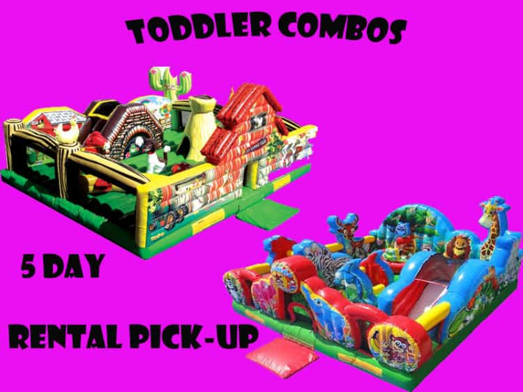 Bounce house - Toddler Combos