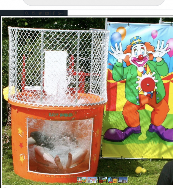 Dunk Tanks and Water Games