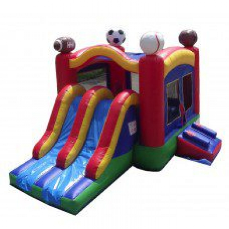 Inflatables – Jump House with Slides
