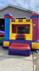 8×8 Mini Castle Jump House Stair (JH214s) 5 day rental- Pi