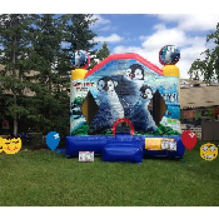 Happy Feet Jump House (JH205)