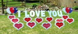 Yard Signs (GS2043-L)  I Love You