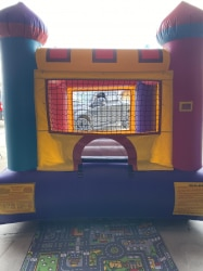 8×8 Mini Castle Jump House No Stair (JH214) 5 day rental- Pi
