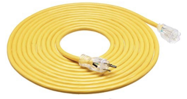 12 gauge ext Cord Rental